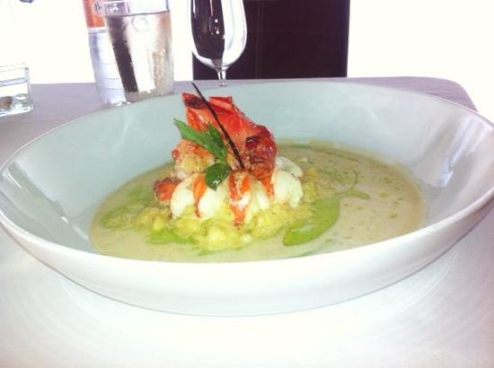 Les Cepages Restaurant: vanilla lobster