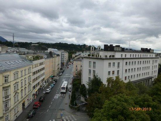 Hotel Mozart: vue de la chambre.