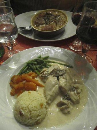 Aux Anysetiers Du Roy Restaurant: Our meals