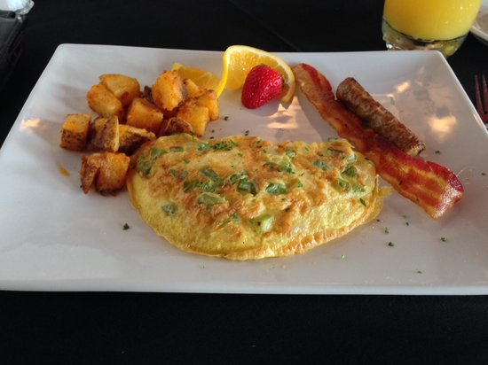 Old City House Inn and Restaurant: The Complimentary Breakfast