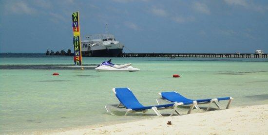 The Royal Cancun All Suites Resort: playa frente al hotel
