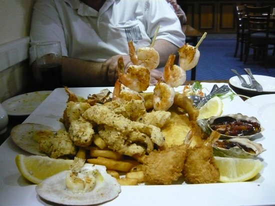 Grosvenor Hotel: Seafood Platter for two