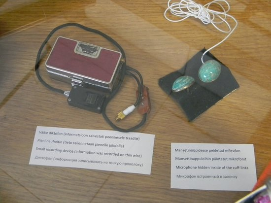 KGB Museum: real spy equipment