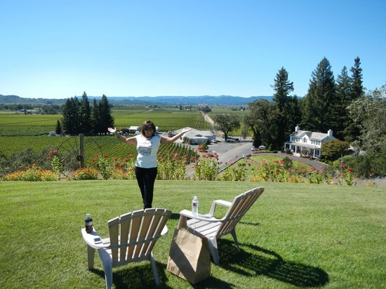 Healdsburg Wine Tours : An amazing lunch spot