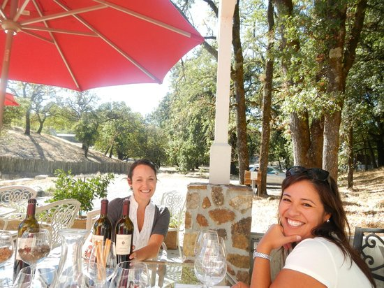 Healdsburg Wine Tour: we met the nicest people!