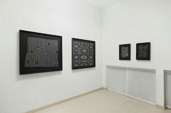 Dep Art Gallery: Alberto Biasi galleria Dep Art mostra 2013