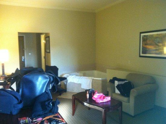 Comfort Suites Forest Park: Jacuzzi room!