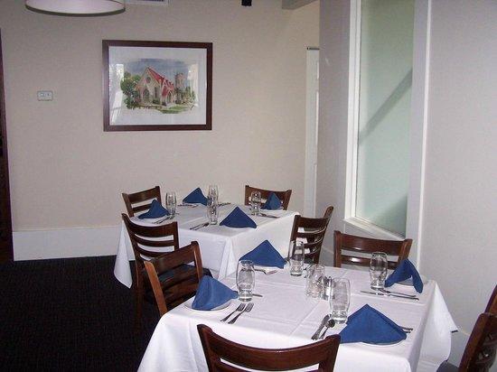 Joe's 2nd Street Bistro : Quiet corner for dining.