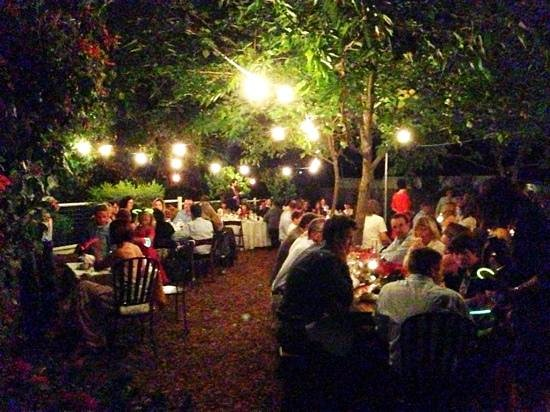 Calistoga Inn: Great space for an event.