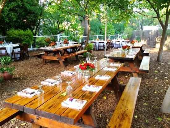 """Calistoga Inn: """"Back Forty"""" beer garden"""