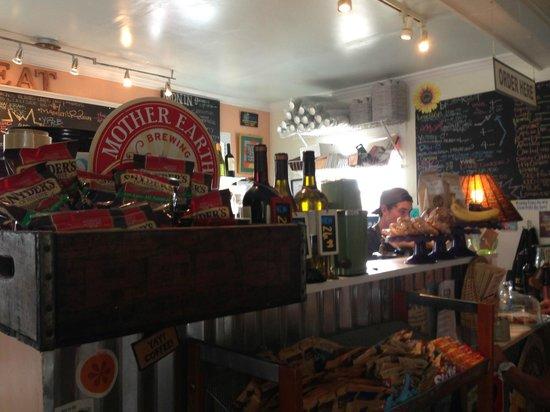 Moore Street Market & Deli: the small kitchen