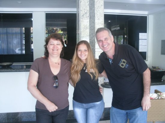 Hotel Pousada Experience Joao Fernandes: Despedida com Lúcia