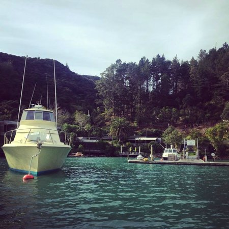 Kingfish Lodge: The View From The Water