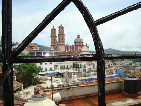 Santa Prisca : Vista desde el hotel