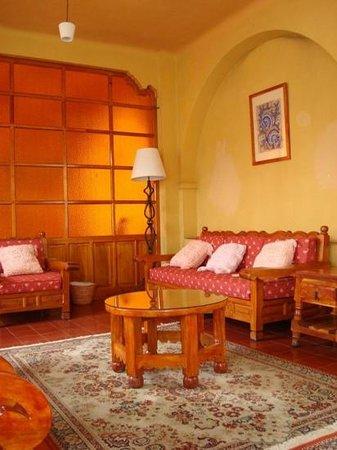 Santa Prisca : Area de descanso
