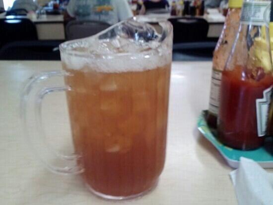 Jesup, GA: You get individual pitchers of tea.