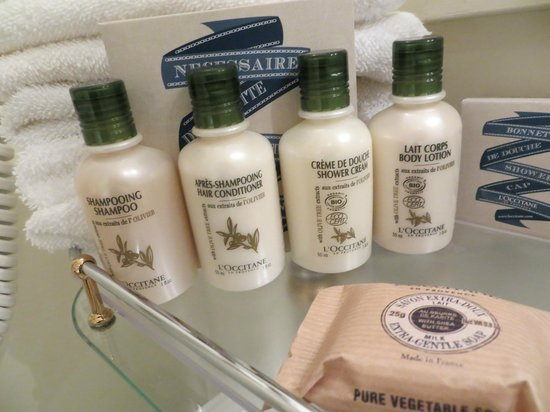 Hotel Schlossle: bath amenities
