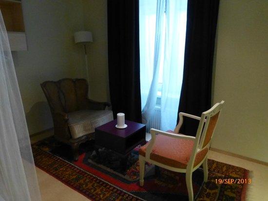 WANZ'inn Design Appartements: coté salon