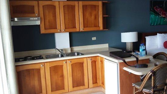 Tropical Suites Hotel: Cozinha anexa