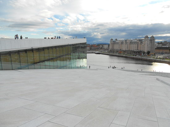The Norwegian National Opera & Ballet: another great view from the top