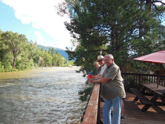 Durango Riverside Resort: Observation Deck