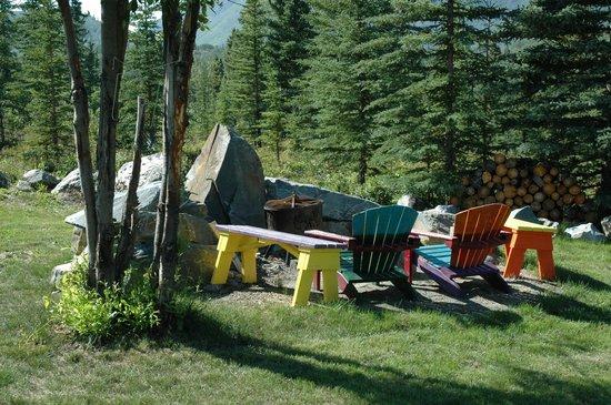 Matanuska Lodge: Fire pit