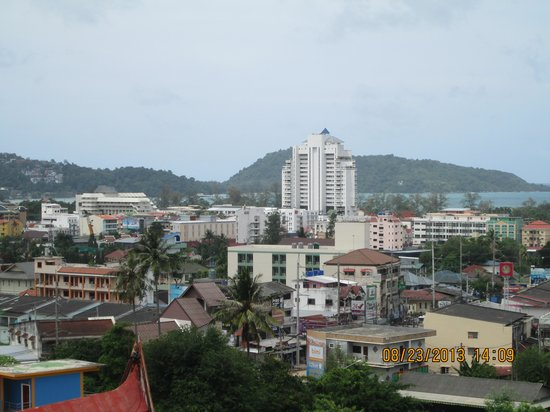 Casa Del M, Patong Beach: View from room 2410. Nice!