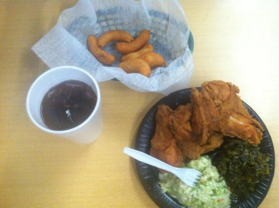 Cooper's Barbecue & Catering: Cooper's Fried Chicken