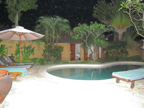 Dyana Villas : View to pool side room