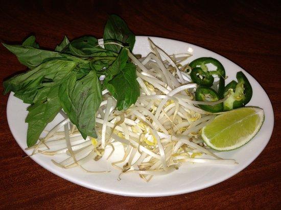 Chop Sticks: Veggie for noodle soup