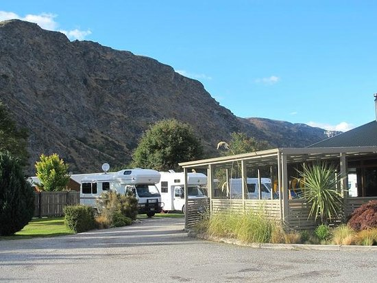 Queenstown TOP 10 Holiday Park: RV spots