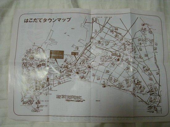 Toyoko Inn Hakodate-ekimae Asaichi: Ramen Place Map