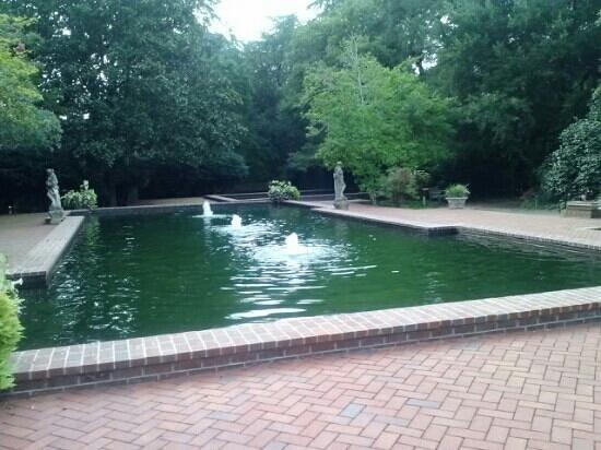 Hopelands Gardens: Fountains