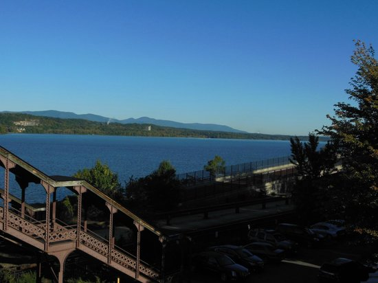 The Rhinecliff: View from our balcony!