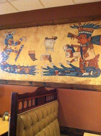 El Comal - Authetic Mexican Restaurant: Artful decor