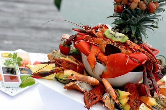 On The Inlet : sumptuous chilled seafood platters
