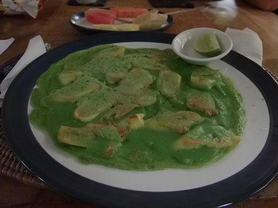 Nirwa Ubud Homestay: Banana Pancake