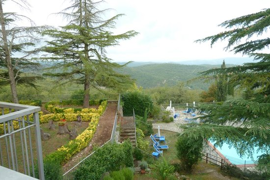 Villa Sant'Uberto Country Inn: Looking out over the grounds