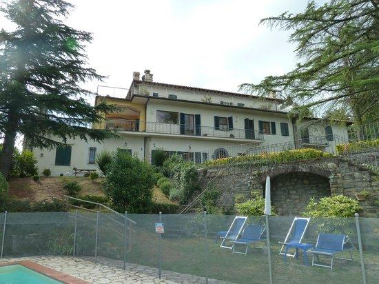 Villa Sant'Uberto Country Inn: Back of the B&B