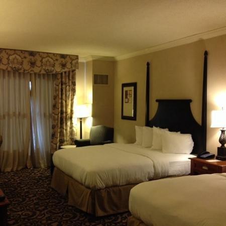 Hilton Columbia Center : double bedroom