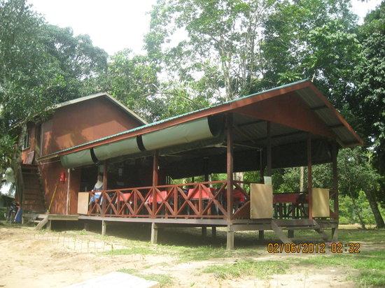 Sukau RB Lodge: restaurant