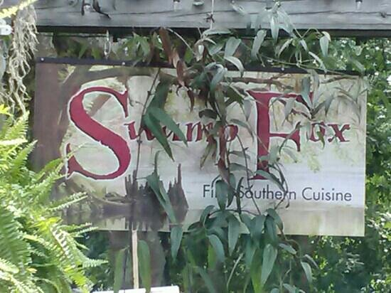 Swamp Fox: Look for the sign