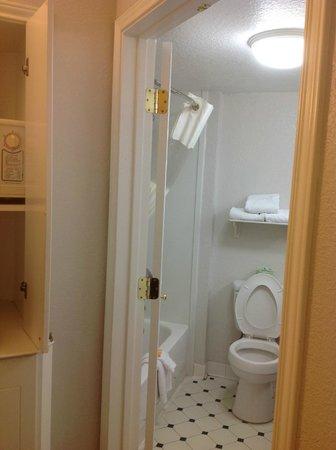 La Quinta Inn & Suites Orlando Airport North : Bathroom view