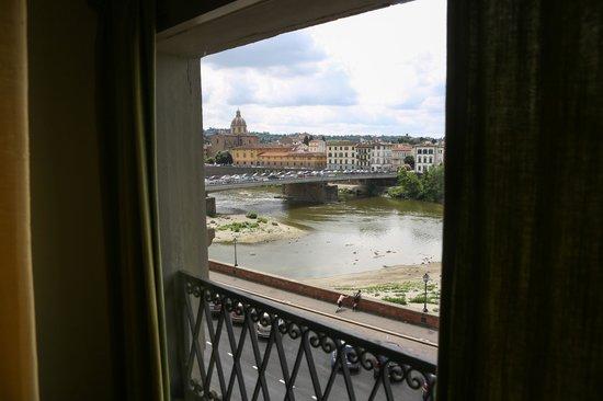 Principe Hotel: river view