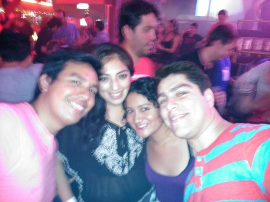 Mandala Cancun: here with my friends having a great time