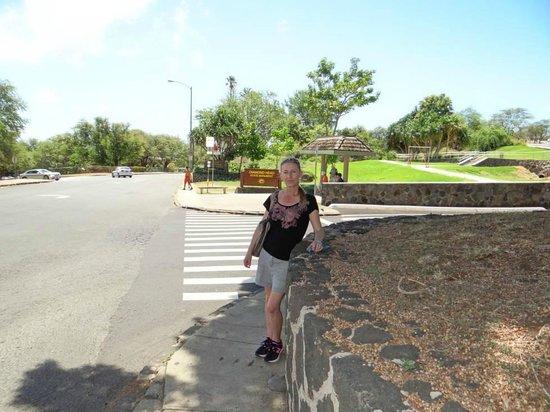 ไดมอนด์เฮด: Entry to the Diamond Head Park