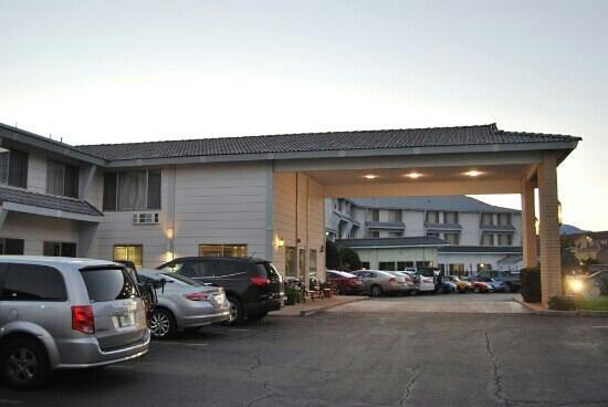 Moab Valley Inn : entrée hôtel