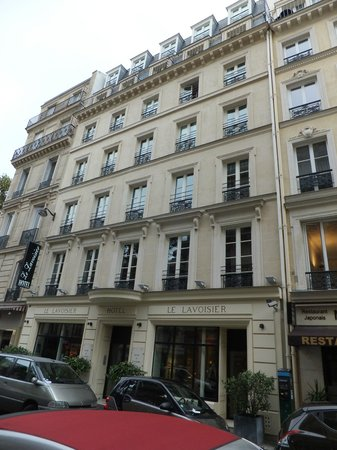 Hotel le Lavoisier: Hotel front