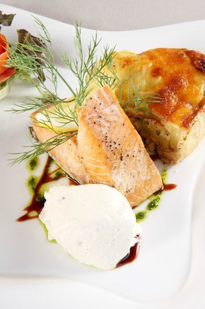 Bistro & Catering by Two Chefs: Pepper smoked salmon