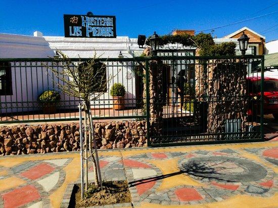 Hosteria Las Piedras: La entrada